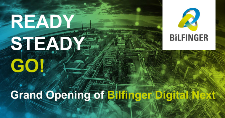 [Translate to English:] Bilfinger Digital Next - Opening of enterprise startup office