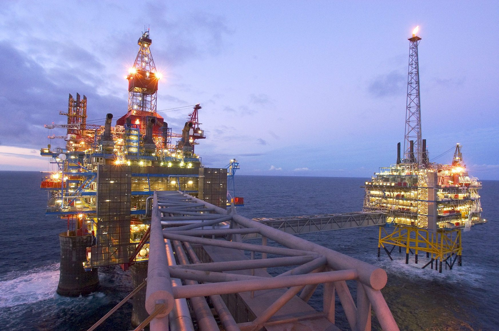 Oil and Gas background