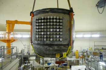 Disassembly of a pressurizer