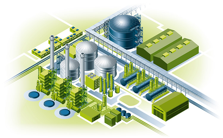 Bilfinger industries, Chemical & Petrochemical, Agriculture chemical plant