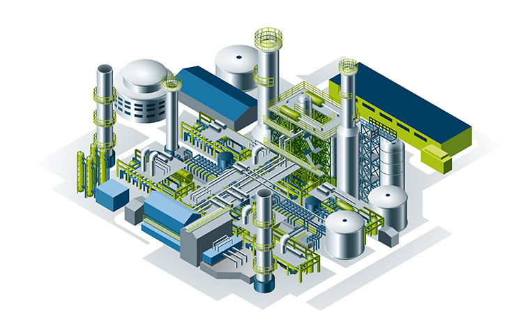 Bilfinger industries, Chemical & Petrochemical, Base chemical plant