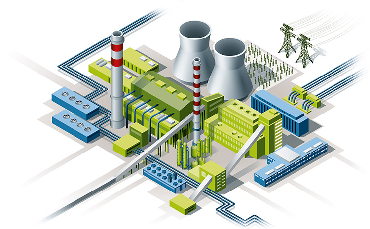 Bilfinger industries, Energy & Utilities, Coal fired power plant