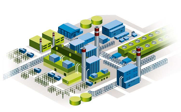 Bilfinger industries, Energy & Utilities, Gas fired power plant