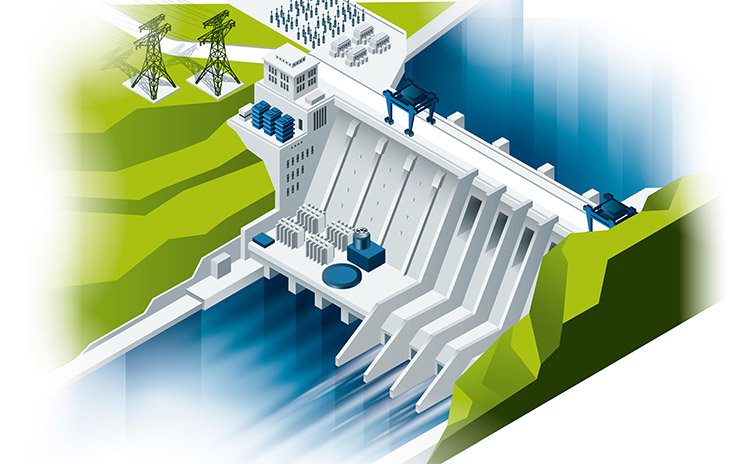 Bilfinger industries, Energy & Utilities, Hydro power plant
