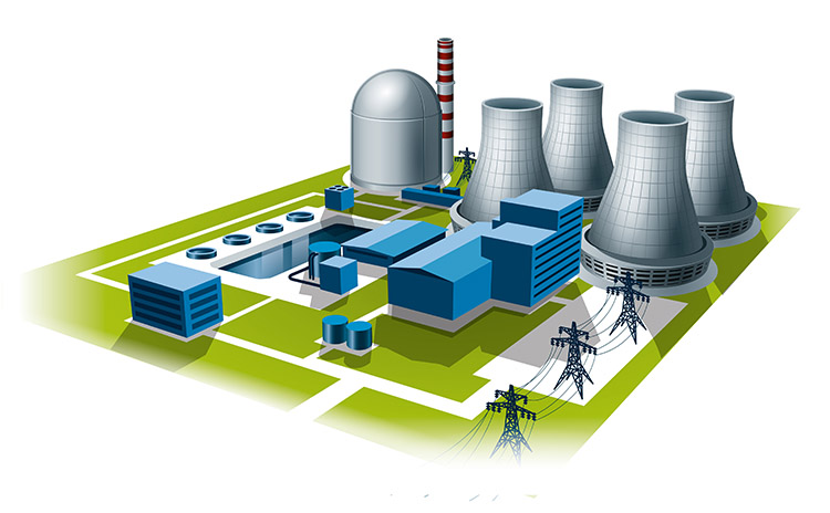 Bilfinger industries, Energy & Utilities, Nuclear power plant