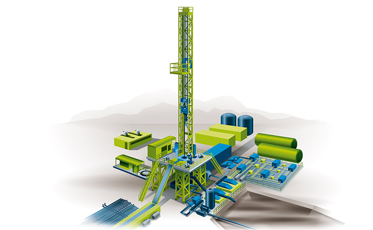 Bilfinger industries, Oil & Gas, Onshore production midstream