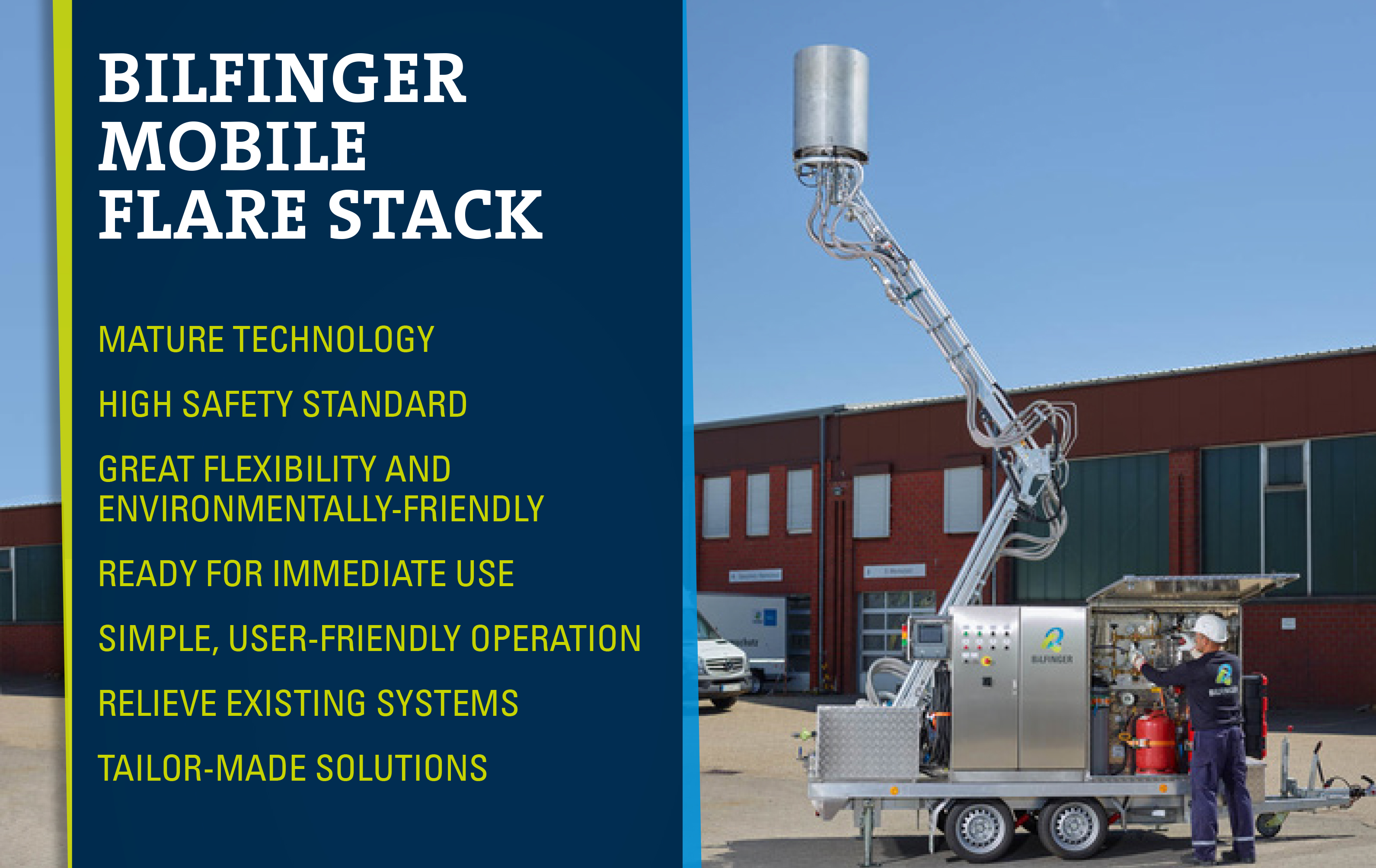 Bilfinger Mobile Flare Stack Product Sheet