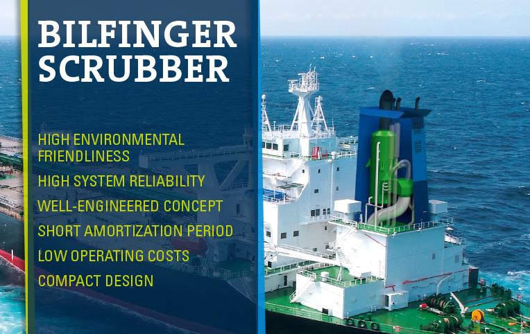 Ship emissions: Scrubbers ensure better air quality - Bilfinger SE
