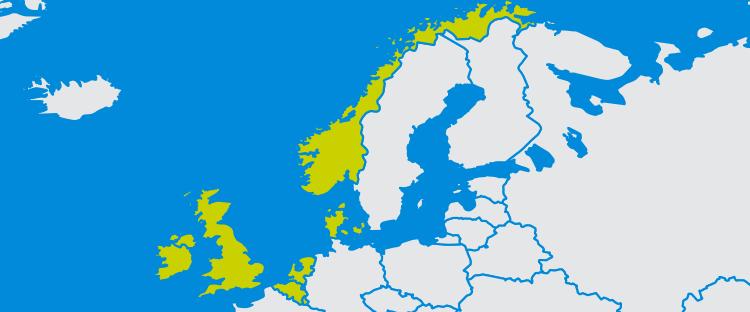 Northwest Europe: focus on oil and gas industries - Bilfinger SE