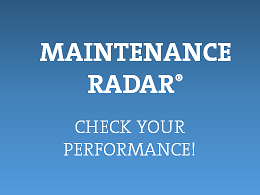 Maintenance Radar